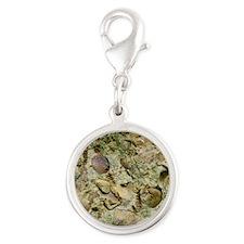 - Silver Round Charm