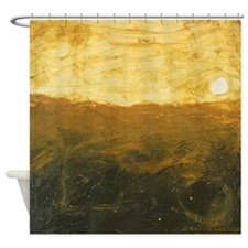 Abstract Horizon Series, I Shower Curtain