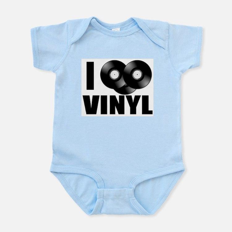 I Love Vinyl Body Suit