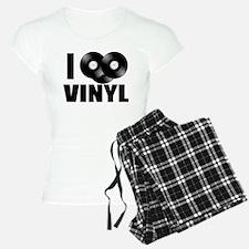 I Love Vinyl Pajamas