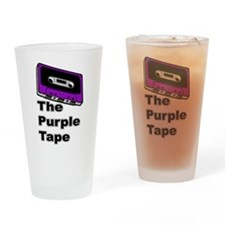 The Purple Tape Drinking Glass