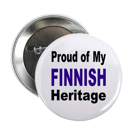 Proud Finnish Heritage Button