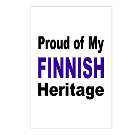 Proud Finnish Heritage Postcards (Package of 8)