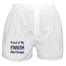 Proud Finnish Heritage Boxer Shorts