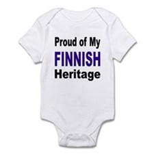 Proud Finnish Heritage Infant Bodysuit