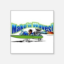 Make'n Waves Rectangle Sticker