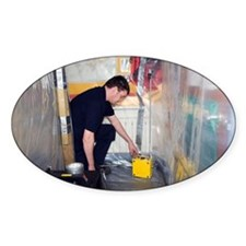Asbestos monitoring - Decal