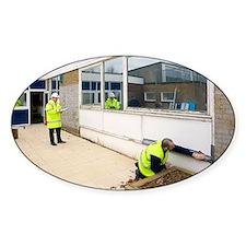 Asbestos removal - Decal