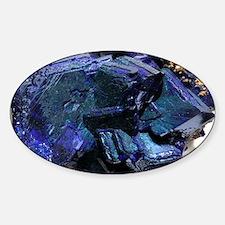 Azurite crystals - Decal