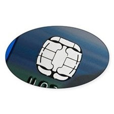 Credit card microchip - Decal