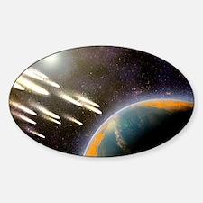 work - Sticker (Oval)