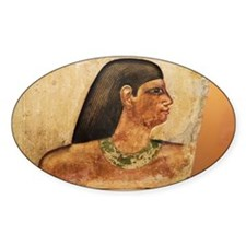 Egyptian Tomb bas-relief of head - Decal