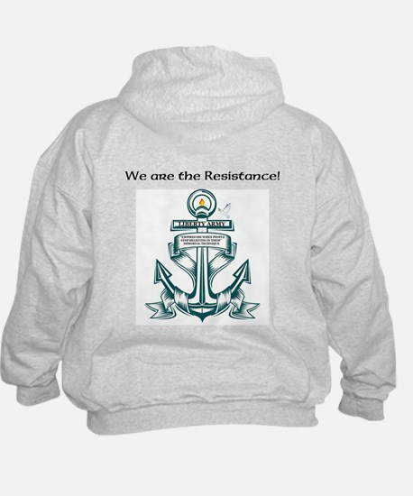 Liberty Army Hoody (front & back design)