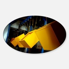 Industrial powder coating - Sticker (Oval)