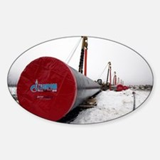 Laying a gas pipe - Decal