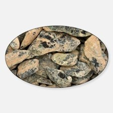 Lichen-covered rocks - Decal