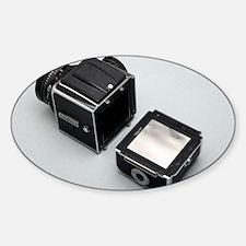 Medium format film camera - Sticker (Oval)