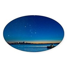 Orion over Vancouver, Canada - Bumper Stickers