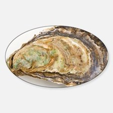 Pacific oyster - Sticker (Oval)
