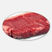 Raw beef steak - Decal