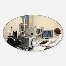 Scanning electron microscopy - Sticker (Oval)