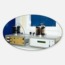 SEM specimen coating equipment - Sticker (Oval)