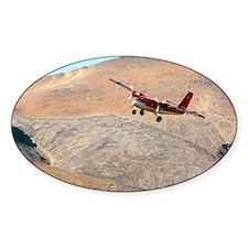 Twin Otter aircraft landing - Bumper Stickers