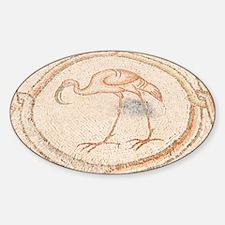 'Bird Mosai Flamingo detail - Decal