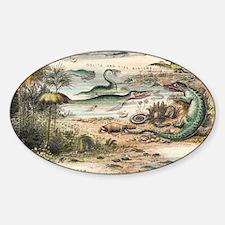 Jurassic - Sticker (Oval)