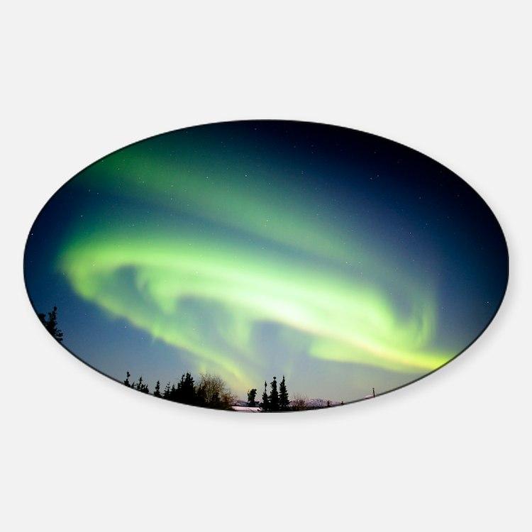 Aurora borealis in Alaska - Decal