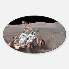Apollo lunar rover, artwork - Decal