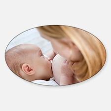 Breastfeeding - Sticker (Oval)