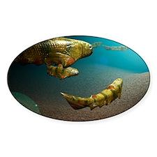 Climatius sp. prehistoric fish - Decal
