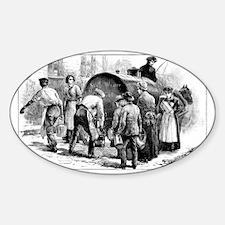 Cholera epidemic, 19th century - Decal