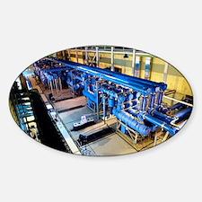 Electricity substation - Sticker (Oval)