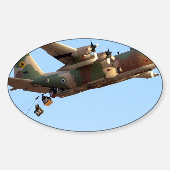 IAF C-130 Hercules - Sticker (Oval)