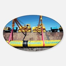 Laying a gas pipeline - Decal