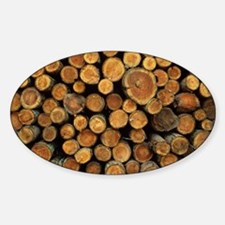 Logs - Sticker (Oval)