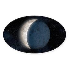 Lunar eclipse, artwork - Decal