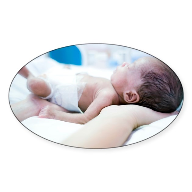 Premature Baby Gifts Australia : Nurse and premature baby decal by sciencephotos