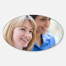 Nurses smiling - Decal