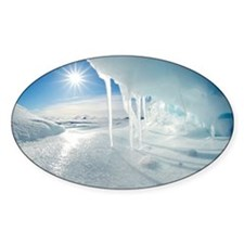 Melting Arctic ice, Canada - Decal