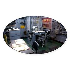 Operations room on USS Intrepid - Decal