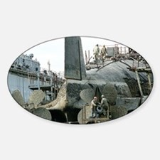 Nuclear submarine maintenance - Sticker (Oval)