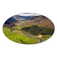 River Clunie, Scotland, UK - Decal