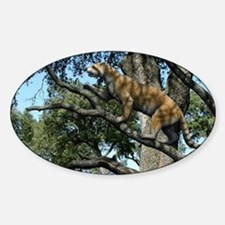 Simocyon in a tree, artwork - Decal