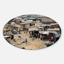 Shanty town, Nigeria - Decal