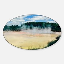 The Champagne Pool, New Zealand - Decal