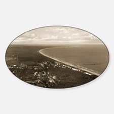 Usedom island, Germany 1938 - Sticker (Oval)