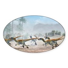 Velociraptor dinosaurs - Decal
